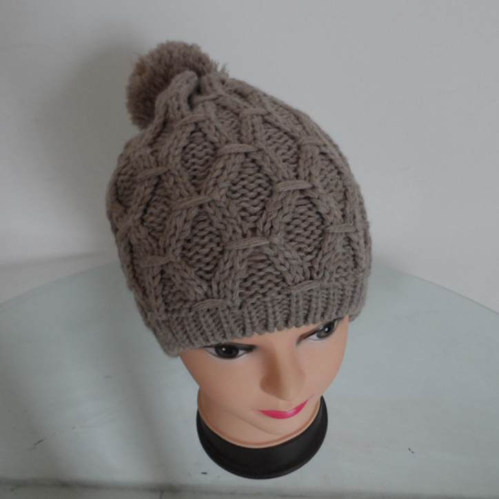 Free Adult Beanie Knitting Patterns Winter Crochet Hat For ...