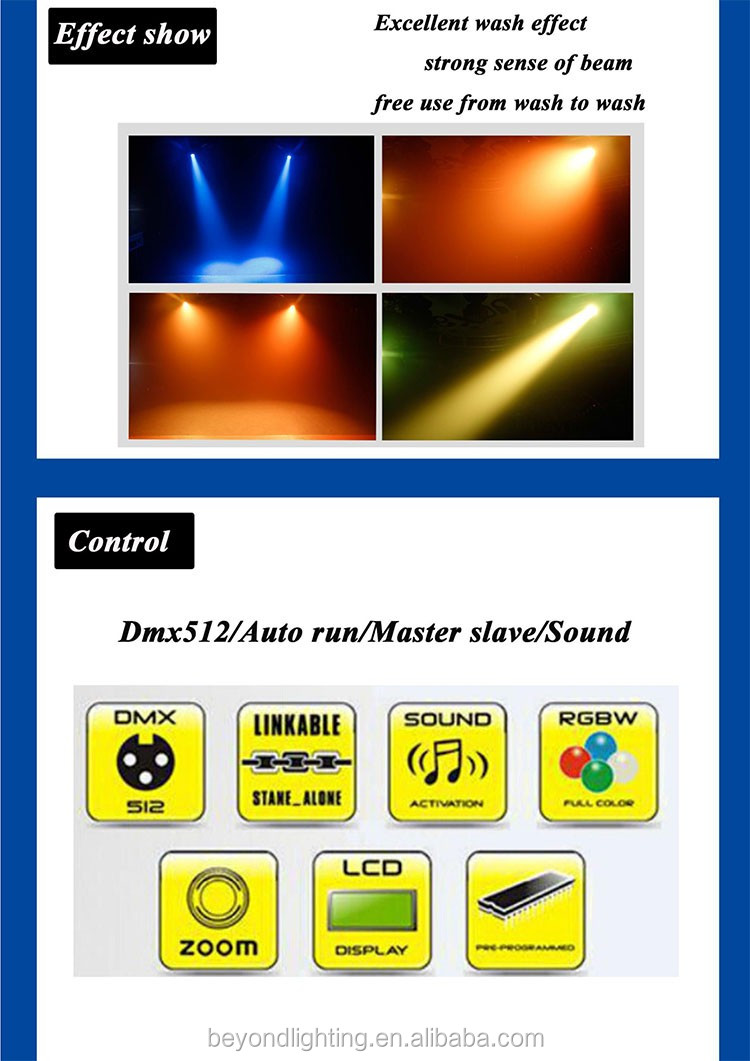 easy hanging zoom par lights with strong beam sense
