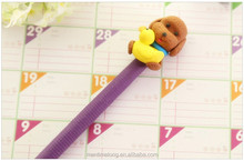 Cute Cartoon Creative Promotional Advertising Pens Clay Pens Wholesale Ballpoint Pens Korea Stationery