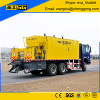 Snio 12CBM Micro Surfacing Asphalt Sprayer Truck, Slurry Seal Paver