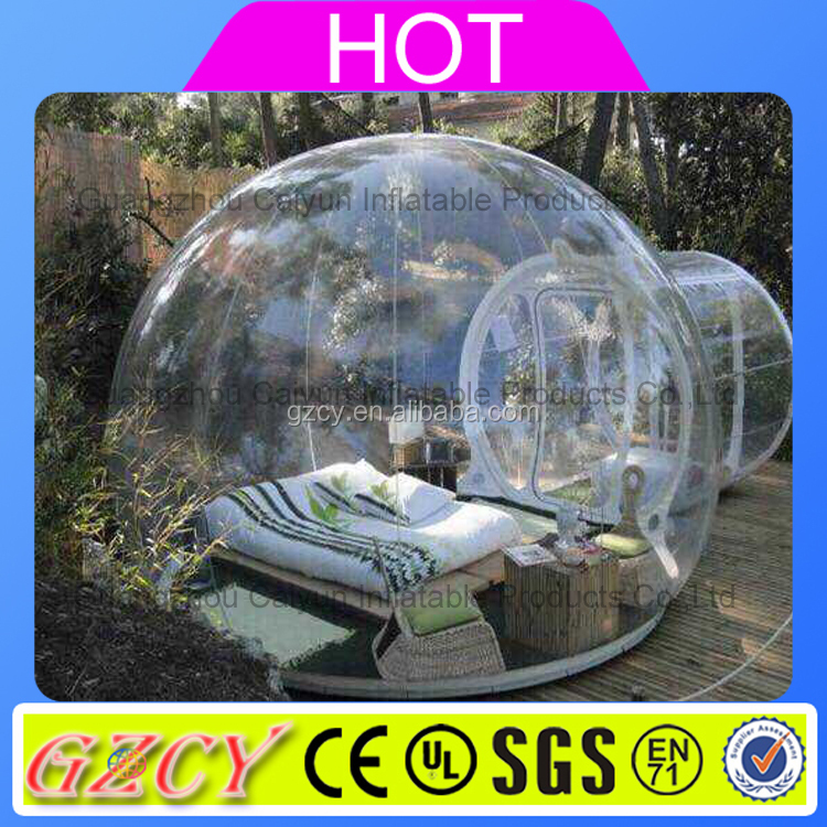 Transparent inflatable bubble tent/air dome tent/inflatable tents for sale