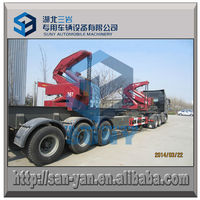 Self Side Loading Container Semi Trailer