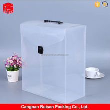 Newest selling decorative fold up plastic box