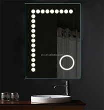 LED Illuminated Magnifying Mirror with Infra-Red Sensor switch