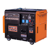 Air cooled portable silent diesel 5KVA generator electric Made in China