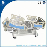 China BT-AE001 CE/ISO hospital linak electric patient ICU bed, intensive care hospital bed parts manufacturer