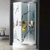 HS-SR866 frosted glass shower enclosure/ turkish shower room/ shower room with ce