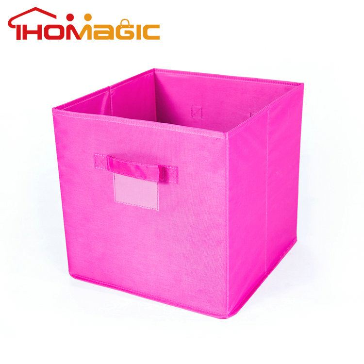 Hot promotional cheap wholesale fabric lined storage boxes