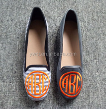High Quality Monogrammed The Philippines Women's Oxford Shoes