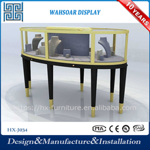 Fashion style Modern Wooden portable jewelry display cases wholesale