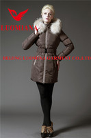 china manafacture heavy weight women clothing winter coatmaterial trench winter coat