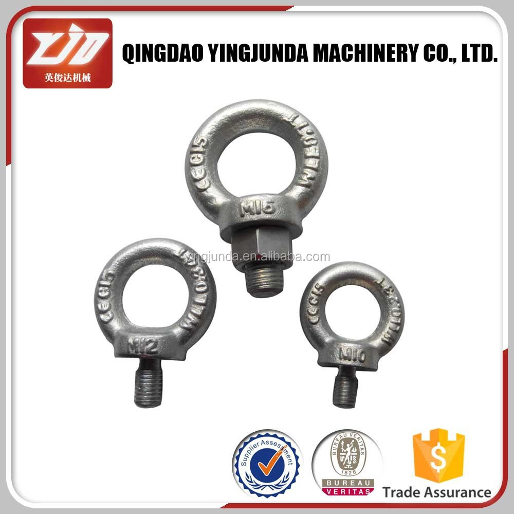 eye bolt rigging hardware forged din 580 eye bolt lifting eye bolt wholesale