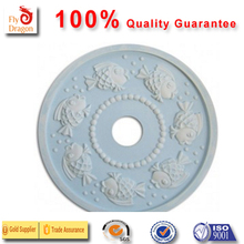 High quality polyurethane moulding21030-C Bubbly Fish Round Chandelier Medallion