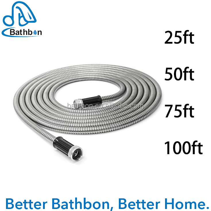 Hot Sale Good Quality 304 Stainless Steel Garden <strong>Hose</strong>,Expandable Garden <strong>Hose</strong>,<strong>Hose</strong> Garden