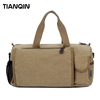 Brand Designer Tote Travel Bag Vintage Canvas Travel Bag With Compartments Manufacturer In China