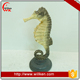 Resin sea horse ornament home decor figurine