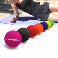 custom logo all kinds of size high quality colorful official silicone lacrosse massage ball