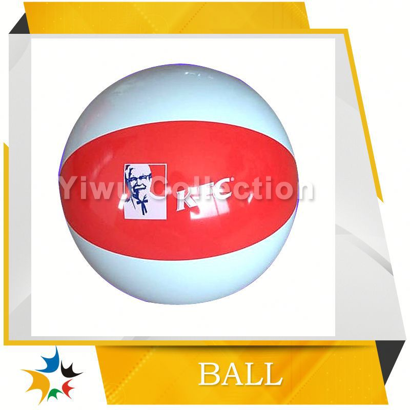 cheap beach ball with six color panels,wholesale children beach ball,updated inflatable orange beach ball