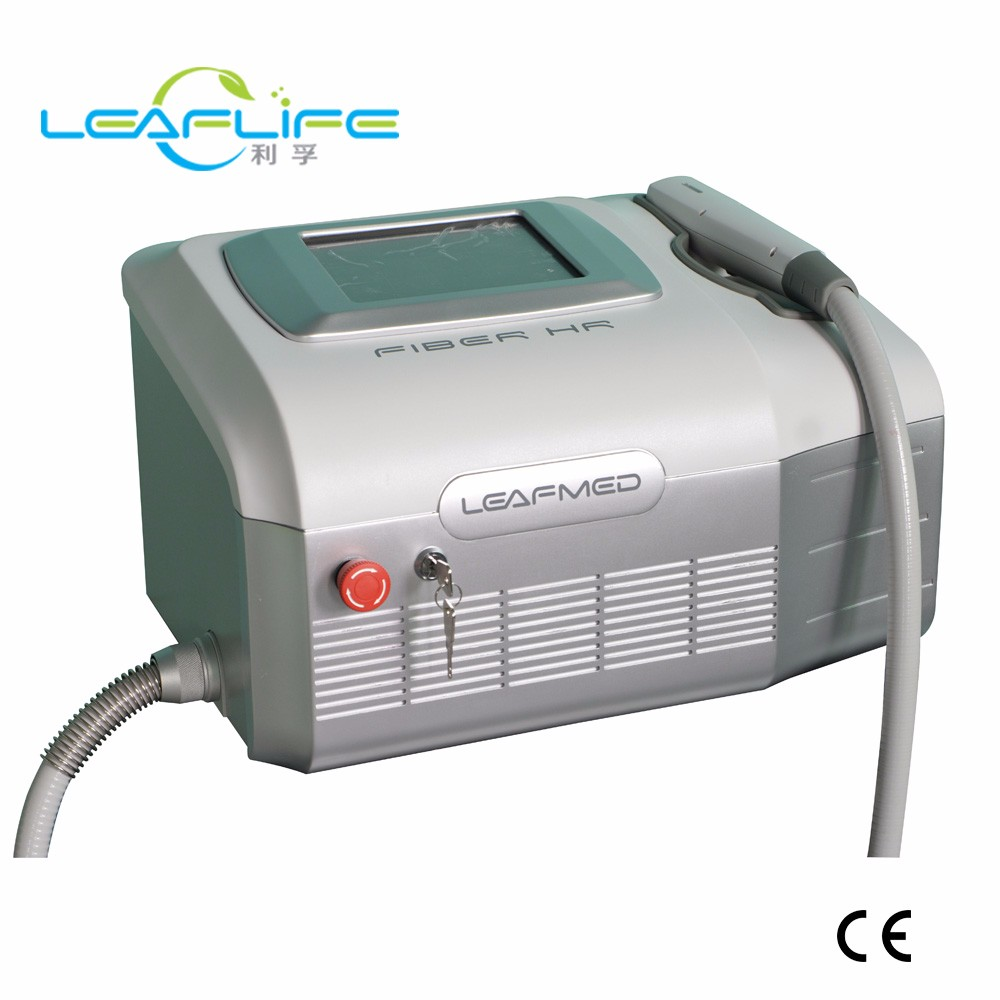 2018 new design fiber coupled 808nm diode laser hair removal machine