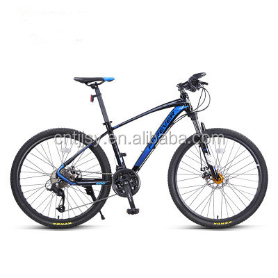 27 speed variable speed double disc brake bicycle aluminum alloy male and female students adult bicycle