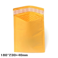 180*230+40mm Brand New Kraft Bubble Envelopes Padded Mailers Self-Seal Bags Packing Post