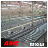 Horizontal heavy rolling conveyor roller