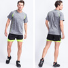 Dry Fit Custom Fitted Sports Gym T Shirt Wholesale Men's Fitness Clothing