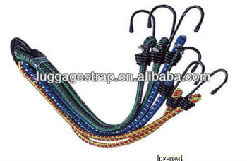 Adjustable latex bungee cord