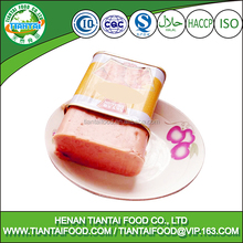 imported halal chicken luncheon meat one