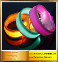 Colorful Glowing LED Wristband for Party and Festivals