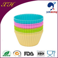 China Manufacturer Silicone Rubber Candy Colors Elastic Non-stick Silicone Freezing Cake Mold
