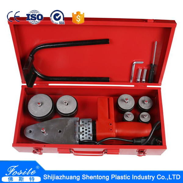 pp/pe/ ppr plastic pipe hot melt welding machine made in china