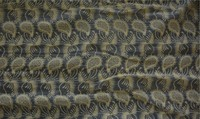 embroidered glass silk Organza fabric