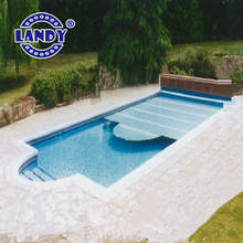 High quality custom hard plastic polycarbonate swimming pool cover for 18'above ground swimming pool made in china
