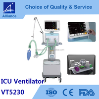 Hospital ICU /medical Mobile Ambulance Ventilator VT5230