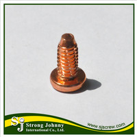 Taiwan auto parts metric arc copper metal weld stud
