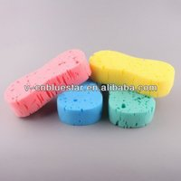 OEM brush colorful sponge maunufacturer car wax applicator sponge