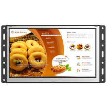 7 inch/ 10 inch/ 15 inch wall mounted commercial advertising display with out camera