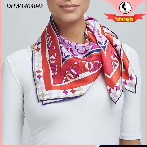 Fashion style high quality airline scarf