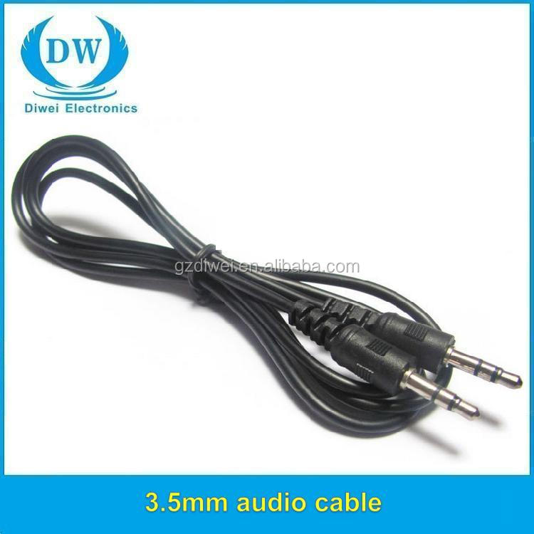 5 pole panel mount 3.5mm plug to 3 rca jack audio cable with volume control