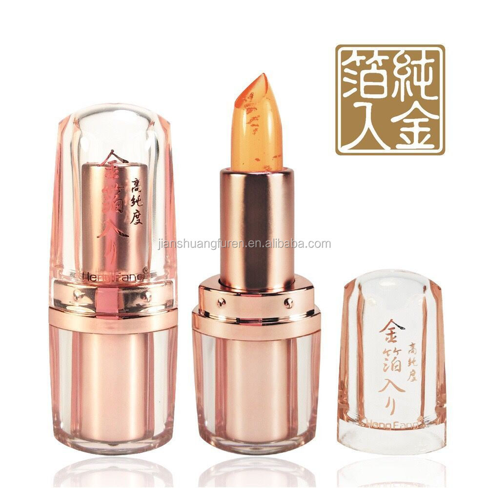 OEM make up jelly temperature change lipstick lipstick