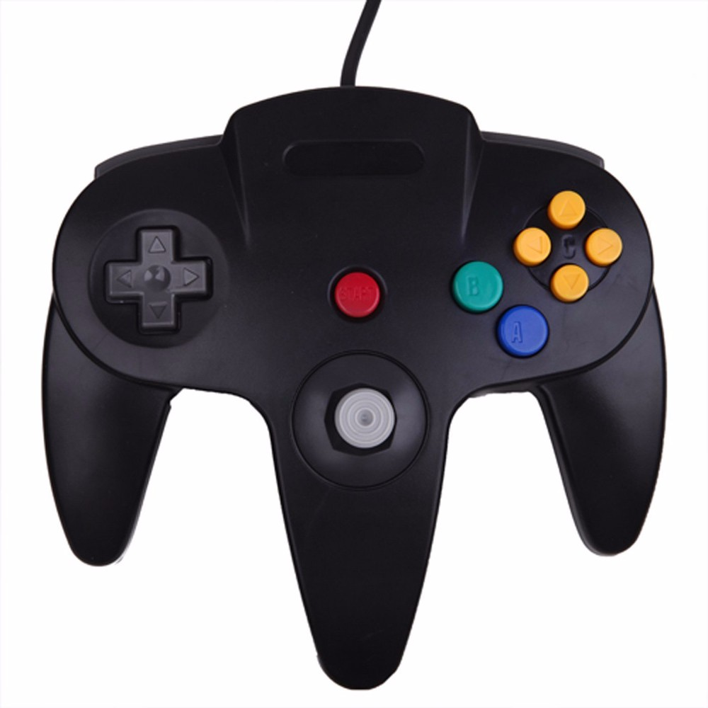 Newfashioned Wired controller for n64 usb for nintendo 64 3ds usb controller Gamepad Joystick for N64 usb