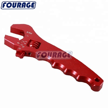 Universal -3AN to -12AN Billet Aluminum Adjustable AN fitting Tools Wrench Spanner