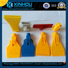 wind jet air nozzle plastic abs pvc pp material flat wind jet air nozzles for direct paper