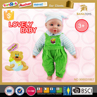 2016 Baby hot items kid doll toys manufacturer china 16 inch 4 voice child love dolls