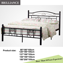 Simple iron bed home furniture children bed