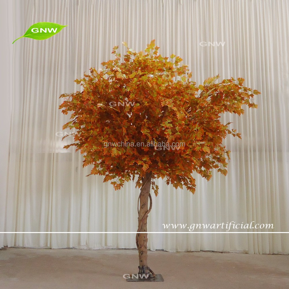 GNW BTR1609008-MT chinese artificial orange maple trees for outdoor decoration