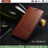 2015 Christmas Latest listing for xiaomi m4 Cowhide phone case, Dermis Phone Case for xiaomi 5 Protective sleeve holster