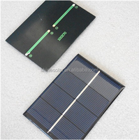 2w 3w 4w 5w small size wire solar panl for toy cars helicoptors