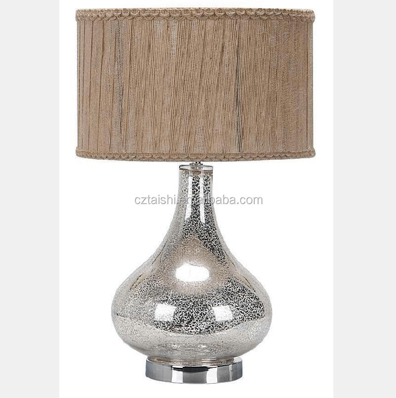 new fashion glass decorate table <strong>lamp</strong> and bed <strong>lamp</strong>